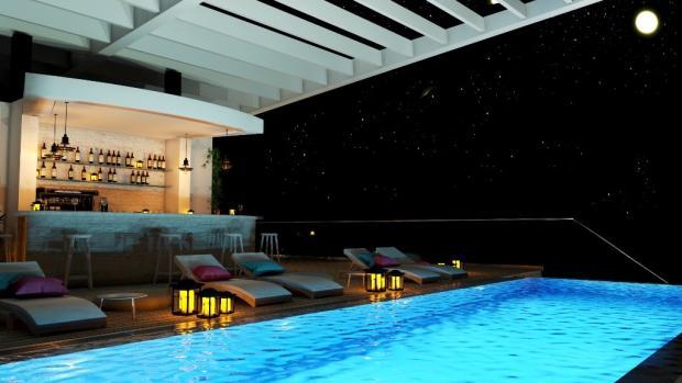 Pool / bar view