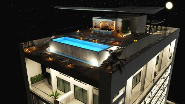 Roof top night