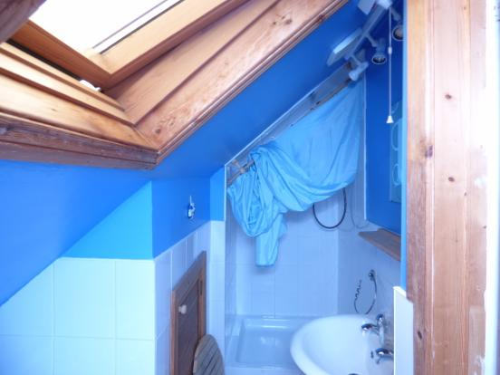 upstairs shower-room