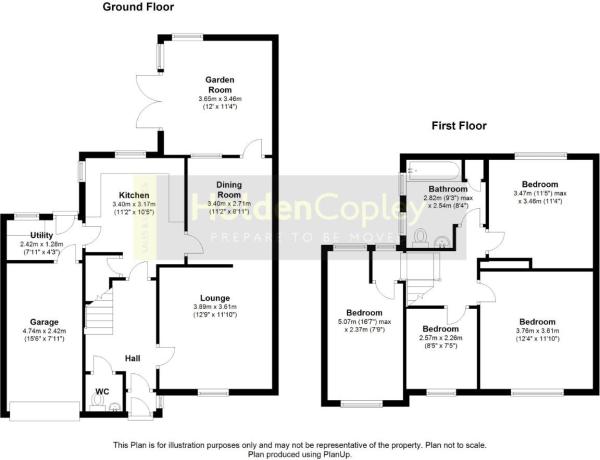 Floor Plan Glen Parv