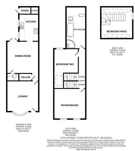floor plan central a
