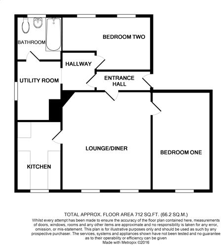 floorplan Flat 3 62 Church Street