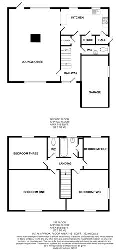 Floor Plan Walsingha