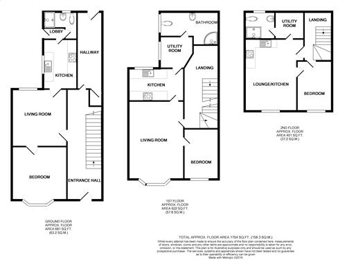 floor plan Colwick R