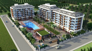 new Apartment for sale in Antalya, Alanya, Kestel