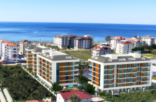 4 bedroom new development for sale in Antalya, Alanya, Kestel