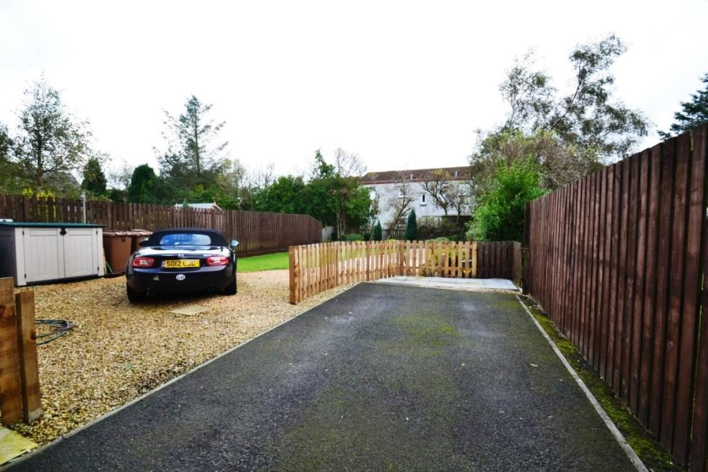 Rear garden/ drive