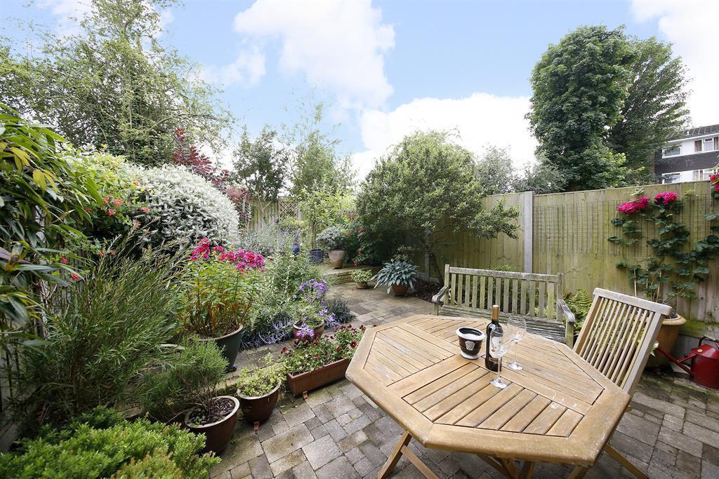 Garden and patio