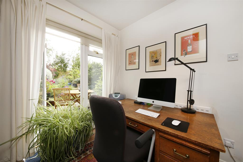 Study / bedroom with access to garden