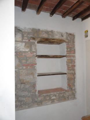 Antic shelves