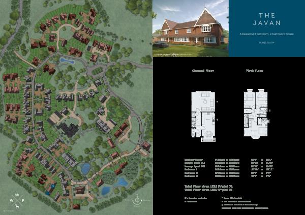 The Javan floor plan