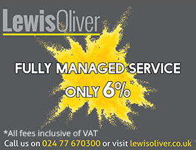 Get brand editions for Lewis Oliver Estates Ltd, Coventry