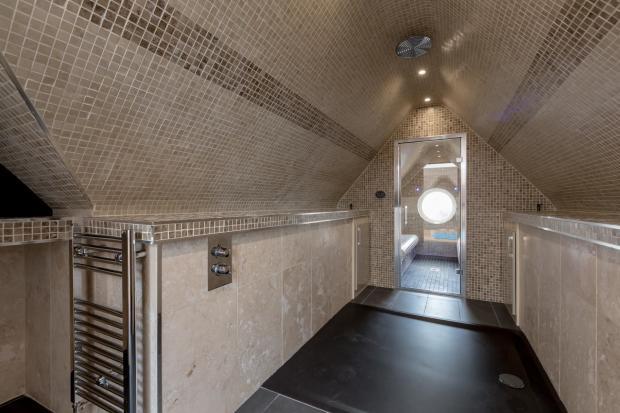 Shower / Steam Room