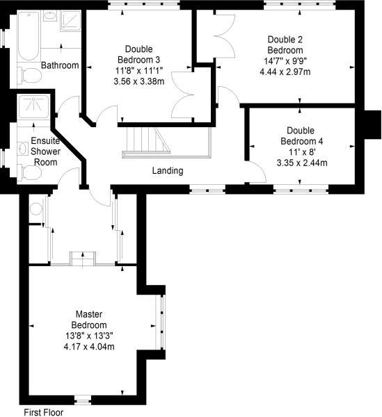 Floorplan - First Fl