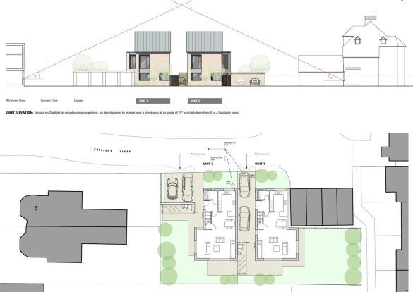 Site Plan & Street E