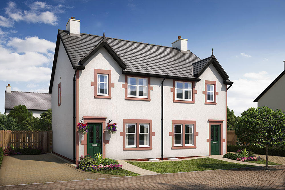 3 bedroom semi detached house for sale in edinburgh road