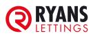 Ryan's Lettings, Ryan's Lettings branch logo