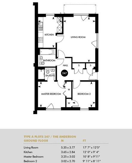 Plot 247 The Anderson Building, Ground Floor Plot 247