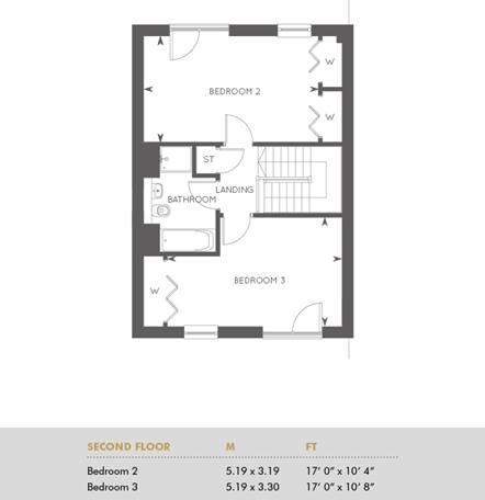 Plot 280, Second Floor