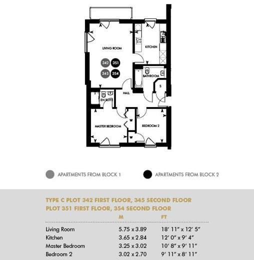 Plot 351, First Floor