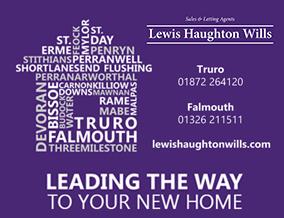 Get brand editions for Lewis Haughton Wills , Truro