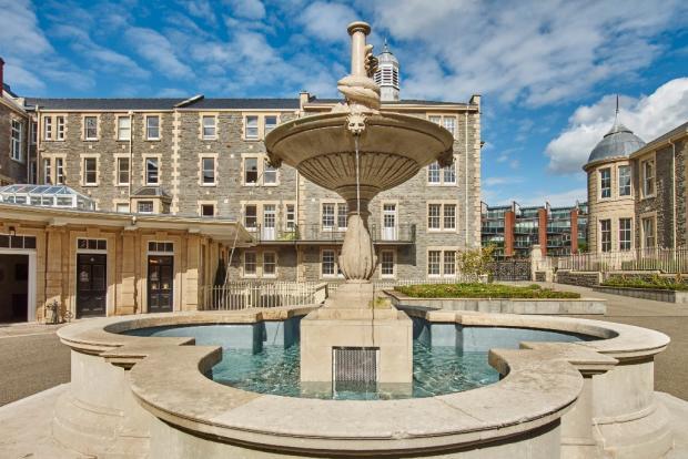 Fountain courtyard