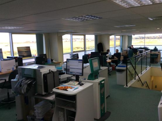 Open Plan Office Are
