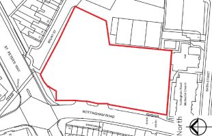 property for sale in 11-25 Nottingham Road,Mansfield,NG18 1BH