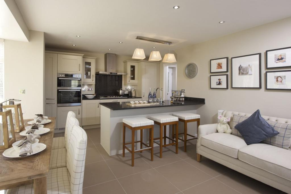 Family dining kitchen