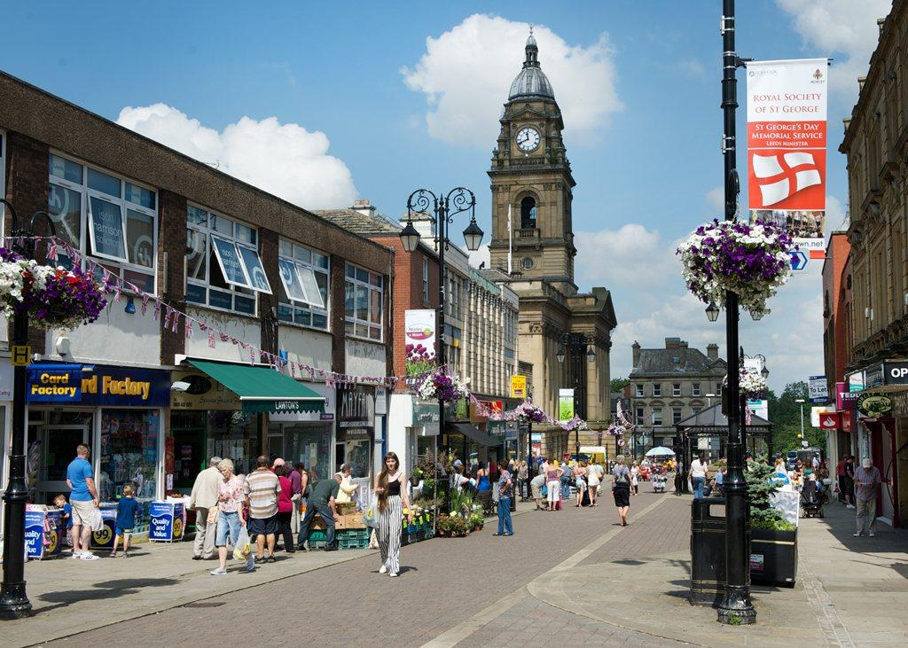 Morley town centre
