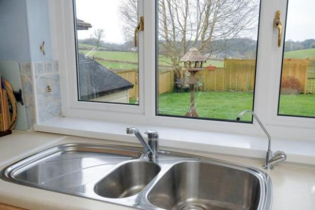 Kitchen Overlooking Rear Gardens