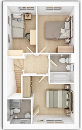 Savy First Floor Plan