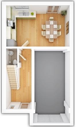 Gladstone Ground Floor Plan