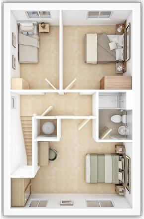 Gladstone Second Floor Plan
