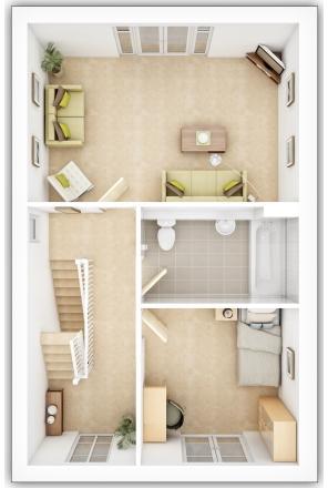 Gladstone First Floor Plan