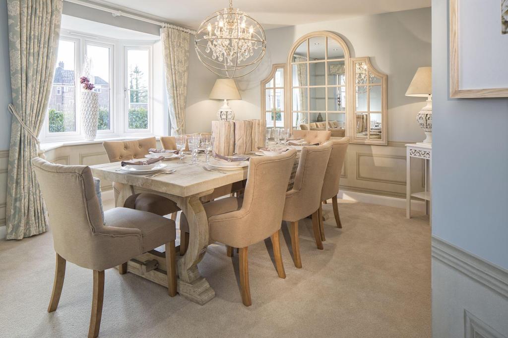 David Wilson Homes,Dining room