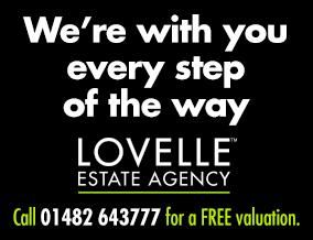 Get brand editions for Lovelle Estate Agency, Hessle