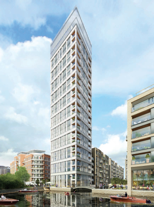 property for sale in Unit 10 Chelsea Creek Tower, Park Street, London, SW6