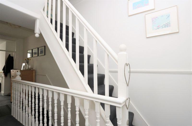 Stairs to loft...