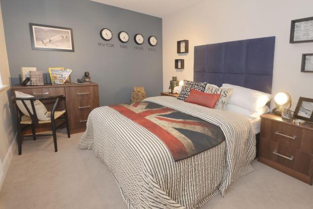 The Bridgford bedroom 3