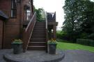 Stairs upto decked b