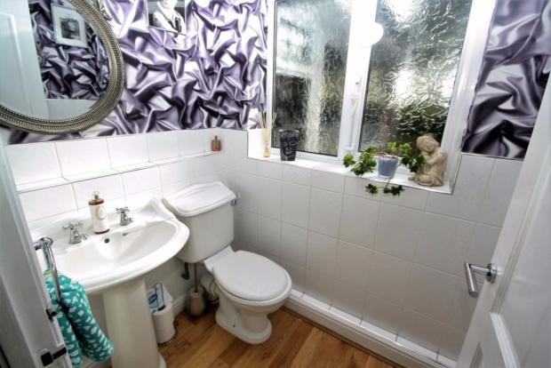Two piece Cloakroom