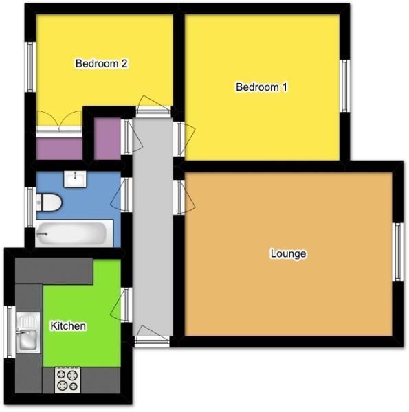 2d banyard floorplan