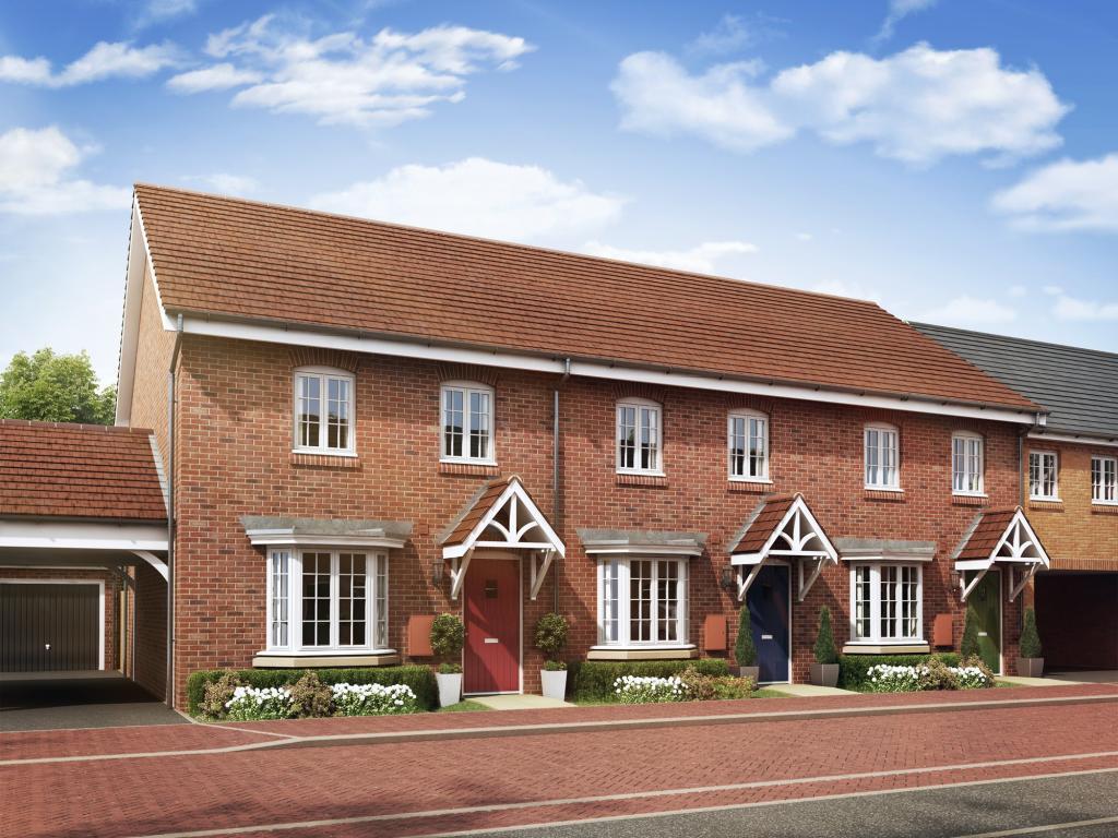 3 bedroom terraced house for sale in greenkeepers road west of bedford bedford mk40 mk40