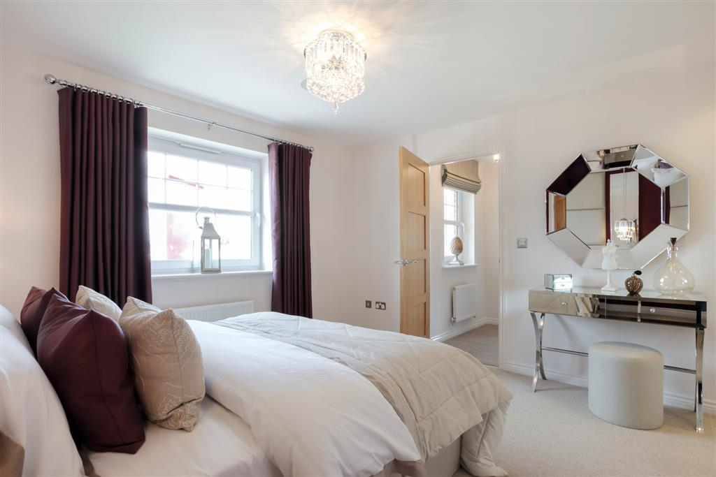 Actual image from The Chelford Showhome at Pennine Gate