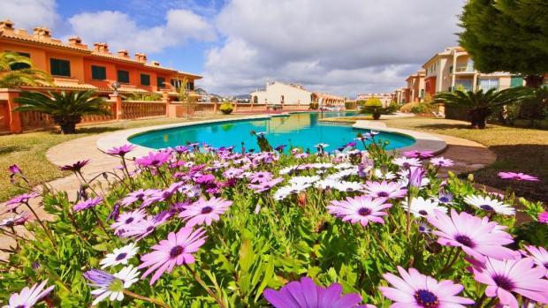 Beautiful garden and