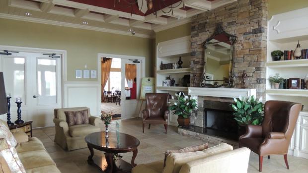Clubhouse interior