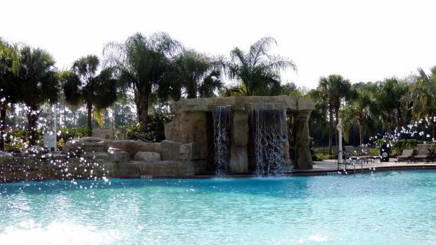 Resort pool example
