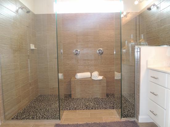 Master bath 1 shower