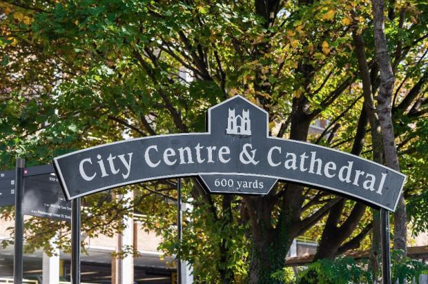 City Centre Sign